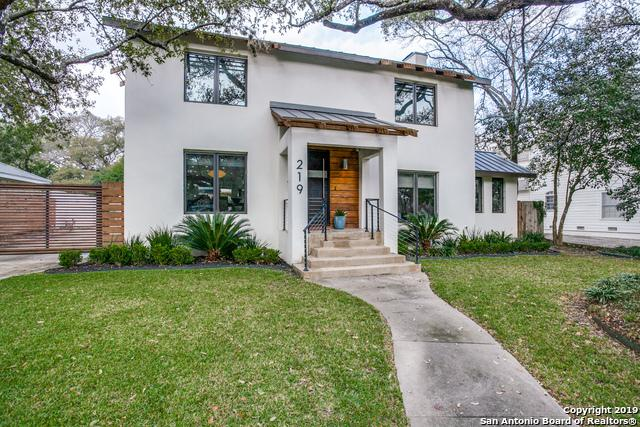 219 Tuxedo Ave, Alamo Heights, TX 78209 (MLS #1364945) :: Alexis Weigand Real Estate Group