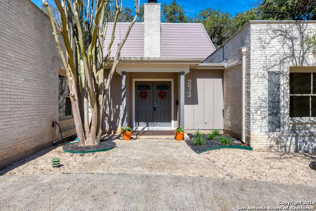 273 Cave Ln, San Antonio, TX 78209 (MLS #1365158) :: Alexis Weigand Real Estate Group