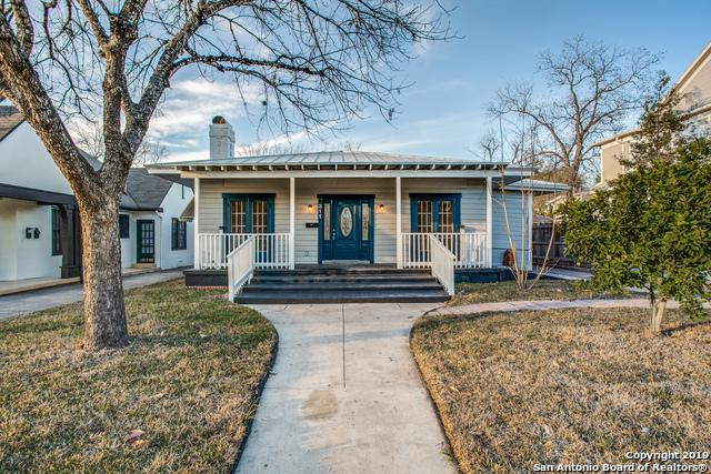 311 W Huisache Ave, San Antonio, TX 78212 (MLS #1365695) :: The Mullen Group | RE/MAX Access