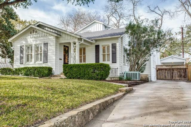 351 Rosemary Ave, Alamo Heights, TX 78209 (MLS #1365782) :: River City Group