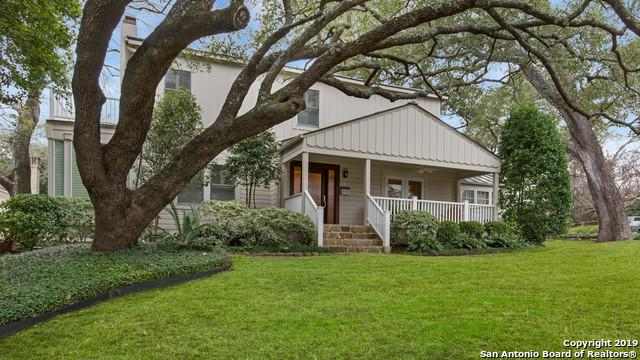 142 Kennedy Ave, Alamo Heights, TX 78209 (MLS #1366021) :: River City Group