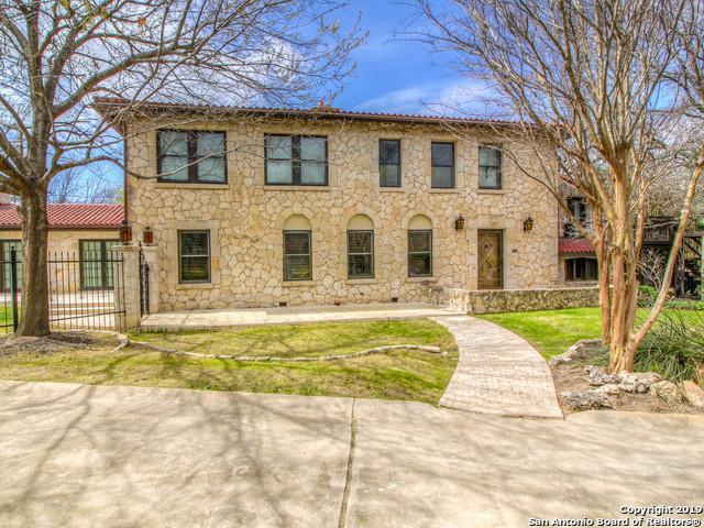 103 Park Hill Dr, San Antonio, TX 78212 (MLS #1366120) :: The Mullen Group | RE/MAX Access
