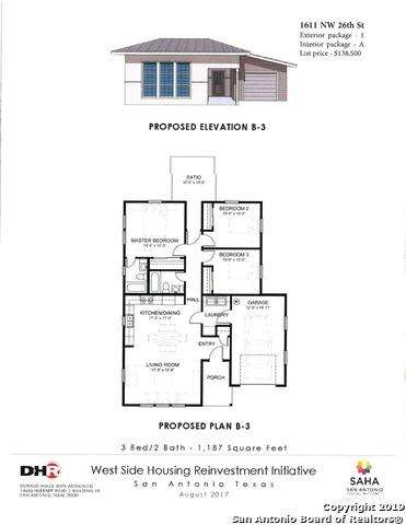 1611 NW 26TH ST, San Antonio, TX 78228 (MLS #1366657) :: The Mullen Group | RE/MAX Access