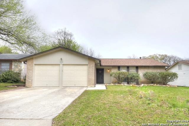 14406 Briarberry St, San Antonio, TX 78247 (MLS #1366992) :: Alexis Weigand Real Estate Group