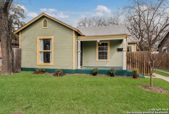 219 E French Pl, San Antonio, TX 78212 (MLS #1367117) :: Exquisite Properties, LLC