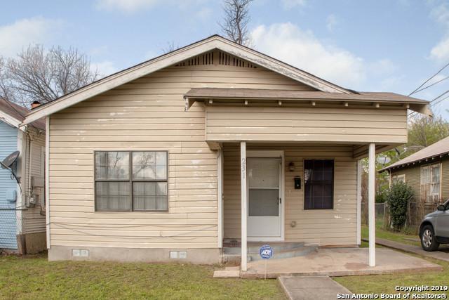 231 Blue Bonnet St, San Antonio, TX 78202 (MLS #1367488) :: Exquisite Properties, LLC