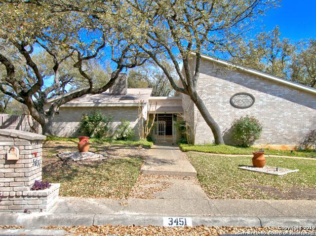 3451 Hunters Run St, San Antonio, TX 78230 (MLS #1368436) :: BHGRE HomeCity