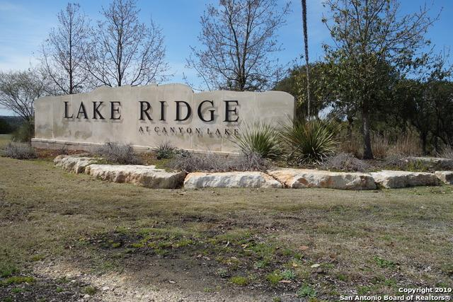1522 Lake Ridge Blvd, Canyon Lake, TX 78133 (MLS #1368663) :: Alexis Weigand Real Estate Group
