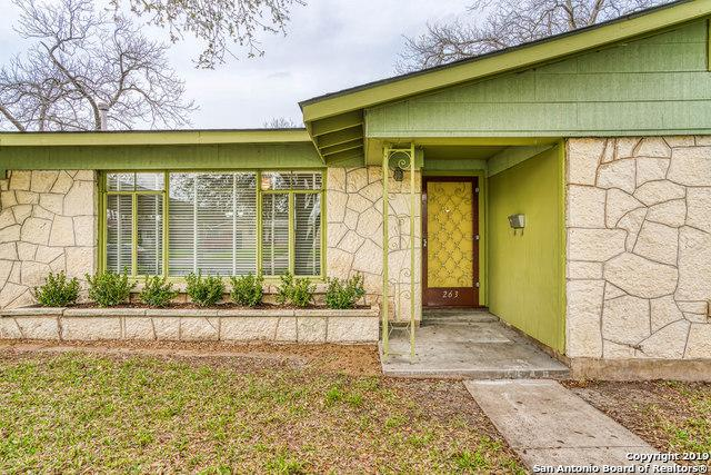 263 Gazel Dr, San Antonio, TX 78213 (MLS #1369311) :: Exquisite Properties, LLC