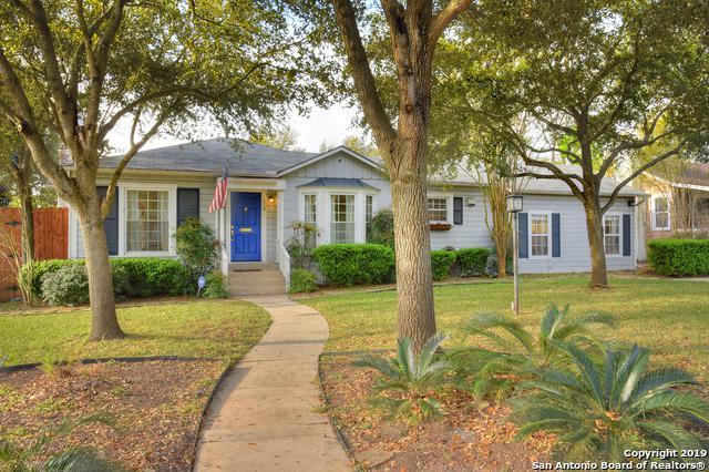 216 Claywell Dr, Alamo Heights, TX 78209 (MLS #1370265) :: Exquisite Properties, LLC