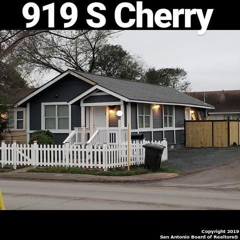 919 S Cherry St, San Antonio, TX 78210 (MLS #1371031) :: Tom White Group
