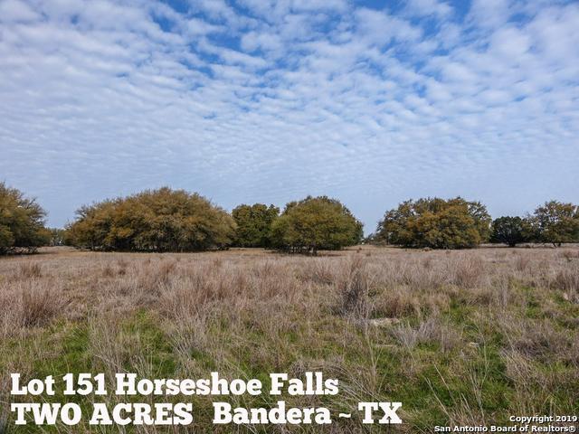 LOT 151 Horseshoe Falls, Bandera, TX 78003 (MLS #1371870) :: The Mullen Group | RE/MAX Access