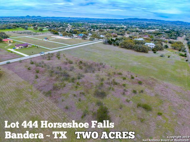 LOT 444 Horseshoe Falls, Bandera, TX 78003 (MLS #1371971) :: The Mullen Group | RE/MAX Access