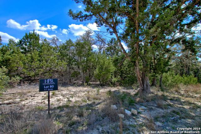 0 High Point Ranch Rd Lot 80, Boerne, TX 78006 (MLS #1372386) :: Keller Williams City View