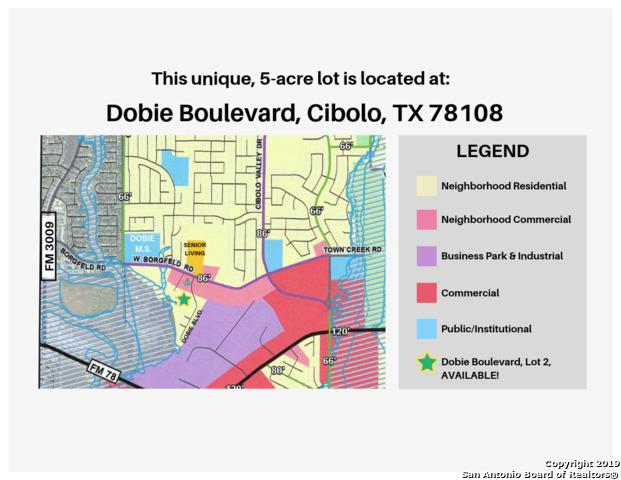 0 Dobie Blvd., Cibolo, TX 78108 (MLS #1372527) :: Niemeyer & Associates, REALTORS®