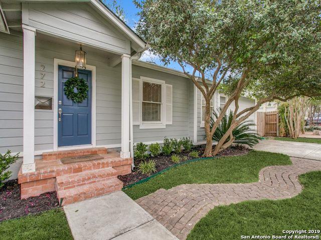 272 Claywell Dr, Alamo Heights, TX 78209 (MLS #1376199) :: Exquisite Properties, LLC