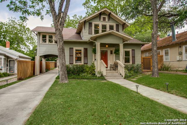 127 Corona Ave, Alamo Heights, TX 78209 (MLS #1376792) :: Exquisite Properties, LLC
