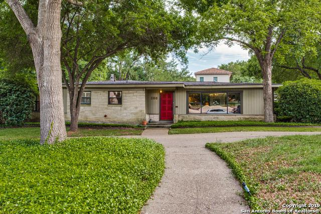 200 Tuttle Rd, Terrell Hills, TX 78209 (MLS #1376908) :: The Gradiz Group