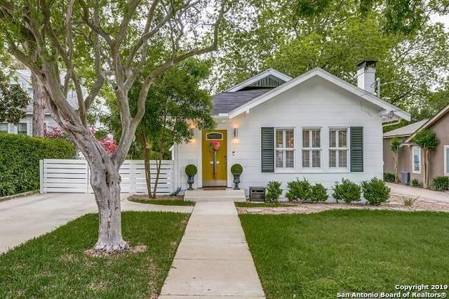 122 Lamont Ave, Alamo Heights, TX 78209 (MLS #1377741) :: Exquisite Properties, LLC