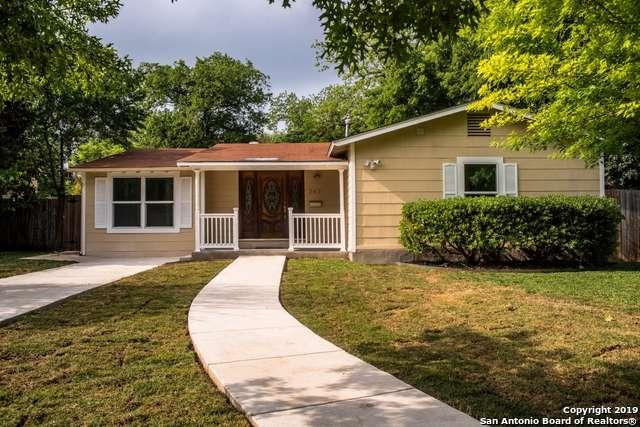 243 Brees Blvd, San Antonio, TX 78209 (MLS #1378257) :: Alexis Weigand Real Estate Group