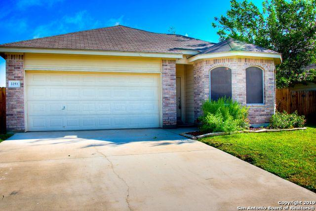 2253 Hidden Meadows, New Braunfels, TX 78130 (MLS #1378493) :: Neal & Neal Team