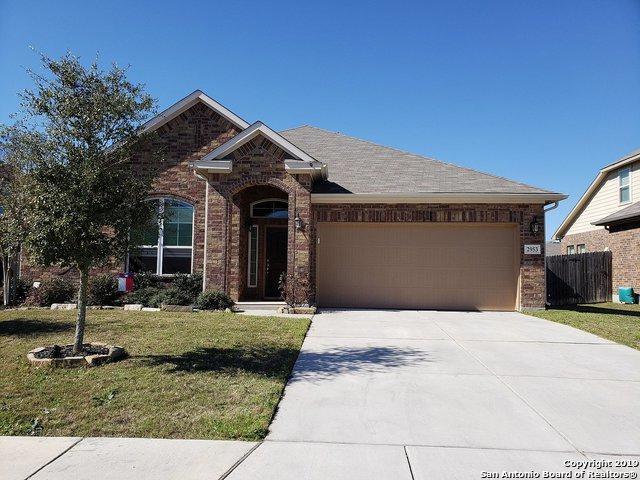 2953 Mistywood Ln, Schertz, TX 78108 (MLS #1378605) :: BHGRE HomeCity