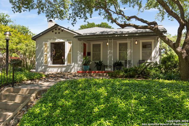 301 Wildrose Ave, Alamo Heights, TX 78209 (MLS #1380378) :: Reyes Signature Properties
