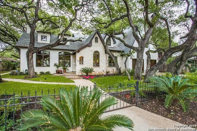 225 Castano Ave, Alamo Heights, TX 78209 (MLS #1381336) :: Reyes Signature Properties