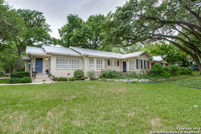 201 Castano Ave, Alamo Heights, TX 78209 (MLS #1381365) :: Tom White Group