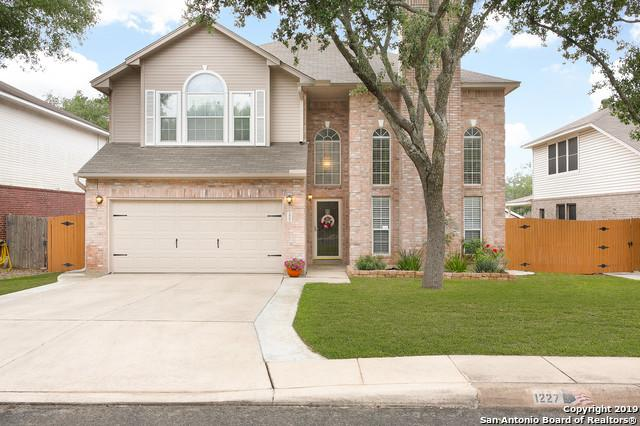 1227 Saxonhill Dr, San Antonio, TX 78253 (MLS #1381538) :: Alexis Weigand Real Estate Group