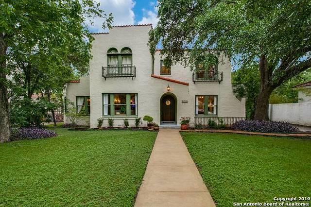 339 W Hollywood Ave, San Antonio, TX 78212 (MLS #1381982) :: Erin Caraway Group