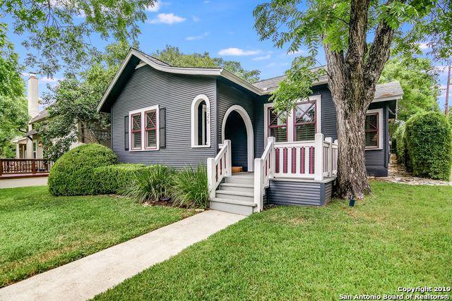 125 Lafayette Ave, Alamo Heights, TX 78209 (MLS #1382394) :: Berkshire Hathaway HomeServices Don Johnson, REALTORS®