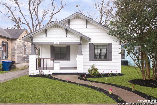 606 Delmar St, San Antonio, TX 78210 (MLS #1383970) :: Erin Caraway Group