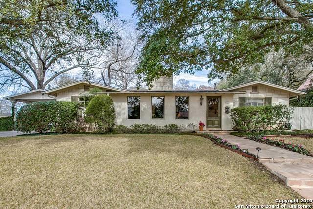 201 Ridgemont Ave, Terrell Hills, TX 78209 (MLS #1384152) :: Tom White Group