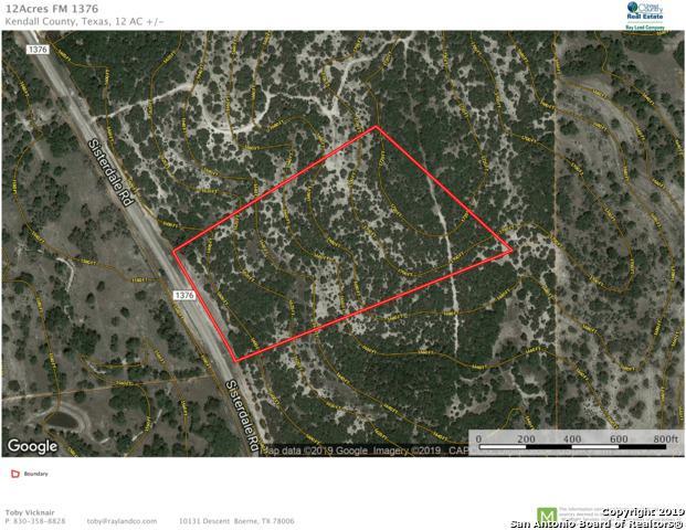 0 Fm 1376, Boerne, TX 78006 (MLS #1385446) :: Glover Homes & Land Group