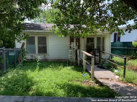 471 N San Joaquin Ave, San Antonio, TX 78228 (MLS #1386633) :: Alexis Weigand Real Estate Group