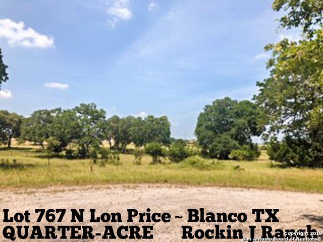 LOT 767 N Lon Price, Blanco, TX 78606 (MLS #1387213) :: Erin Caraway Group