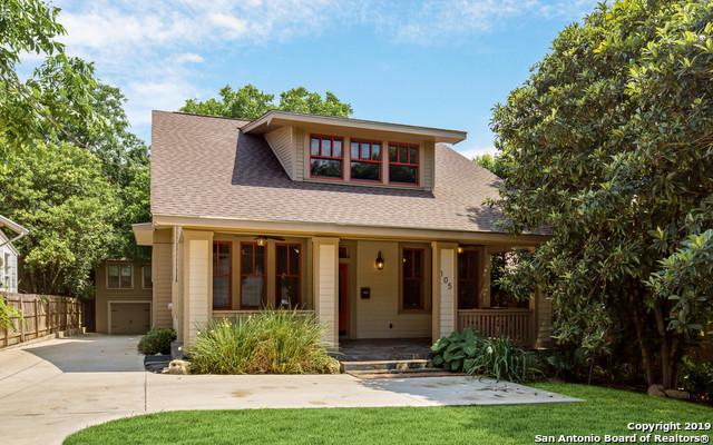 105 Routt St, Alamo Heights, TX 78209 (MLS #1388717) :: River City Group