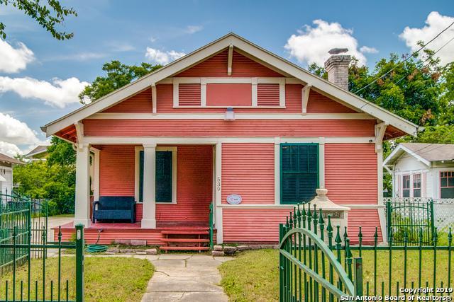 539 Wickes St, San Antonio, TX 78210 (MLS #1389571) :: Reyes Signature Properties