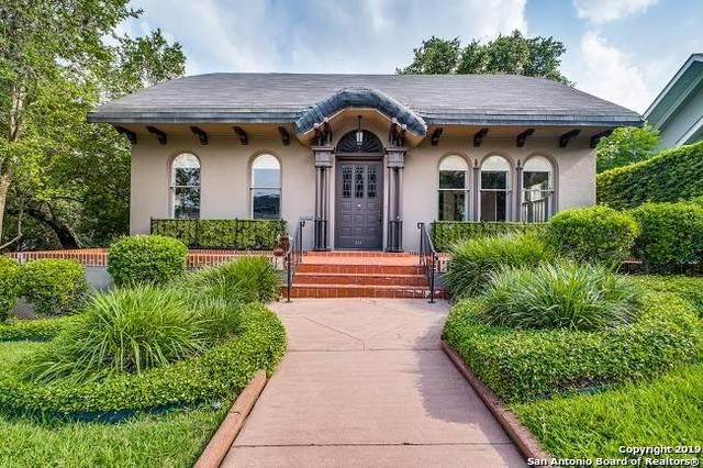 216 Argyle Ave, Alamo Heights, TX 78209 (MLS #1390804) :: The Castillo Group