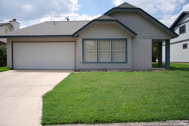 9847 Fortune Ridge Dr, Converse, TX 78109 (MLS #1391423) :: BHGRE HomeCity