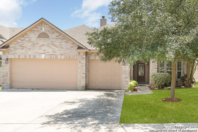 113 Spyglass Cove, Cibolo, TX 78108 (MLS #1393559) :: The Mullen Group | RE/MAX Access