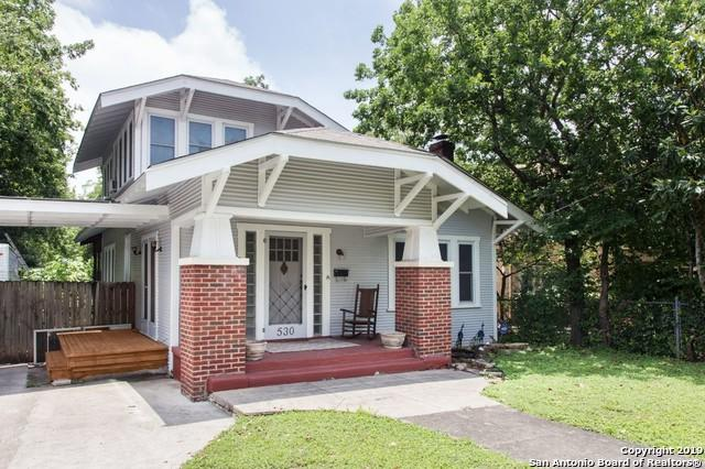 530 Fulton Ave, San Antonio, TX 78212 (MLS #1393920) :: The Mullen Group | RE/MAX Access