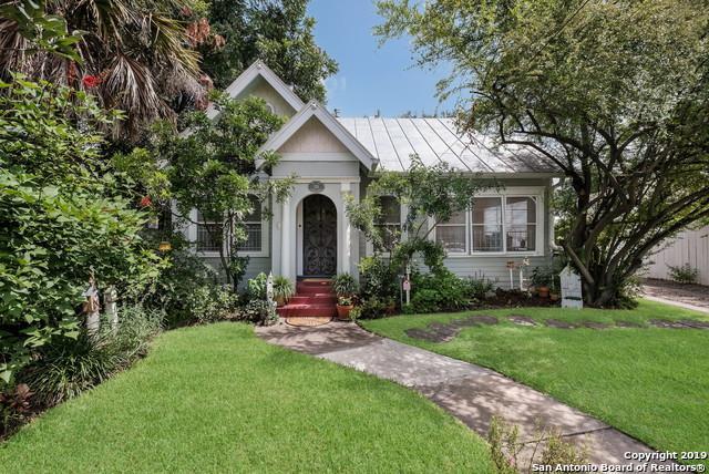 339 E French Pl, San Antonio, TX 78212 (MLS #1394283) :: Exquisite Properties, LLC