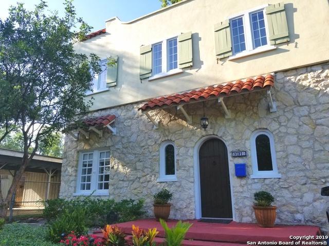 320 W Rosewood Ave, San Antonio, TX 78212 (MLS #1396084) :: Vivid Realty