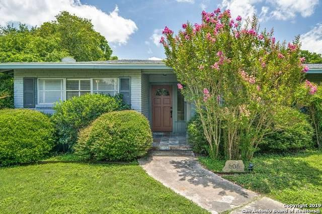 606 Wyndale St, San Antonio, TX 78209 (MLS #1396598) :: The Mullen Group | RE/MAX Access