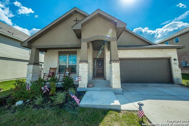 601 Saddle Villa, Cibolo, TX 78108 (MLS #1398494) :: BHGRE HomeCity