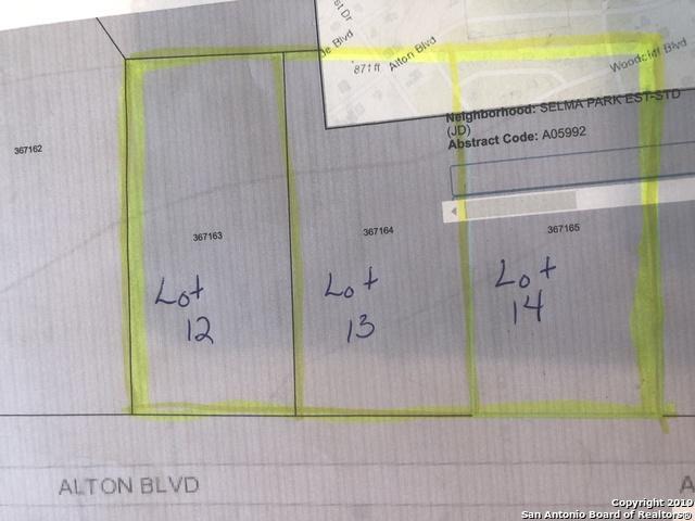 0 Alton Blvd, Selma, TX 78154 (MLS #1398616) :: Reyes Signature Properties