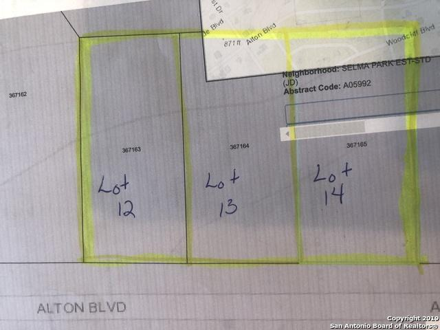 0 Alton Blvd, Selma, TX 78154 (MLS #1398633) :: Reyes Signature Properties