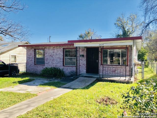 2434 Mckinley Ave, San Antonio, TX 78210 (MLS #1398725) :: Alexis Weigand Real Estate Group